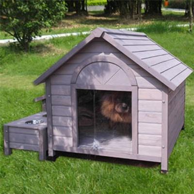 강아지 애견 개 원목 하우스 편백나무 실내외 겸용