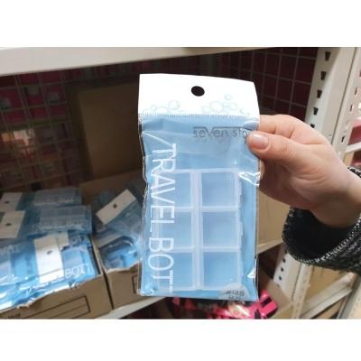 칠성 휴대용6칸약통 휴대용약통 약통 약보관통 약보관