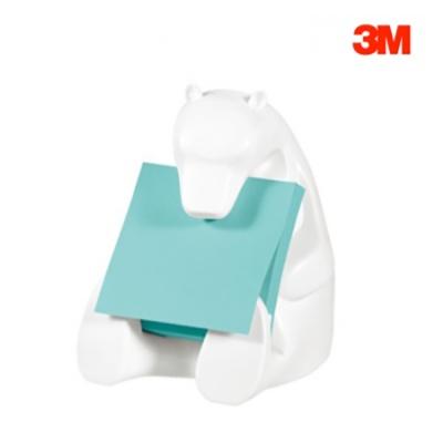 3M 포스트-잇 팝업 디스펜서 BEAL-330 곰인형
