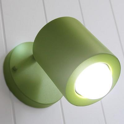 [바이빔] 배럴 벽1등[LED]-그린