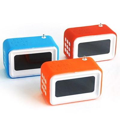 파스텔 USB 라디오 시계