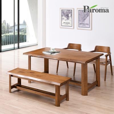 파로마 아만다 4인 벤치형 식탁세트 IR11