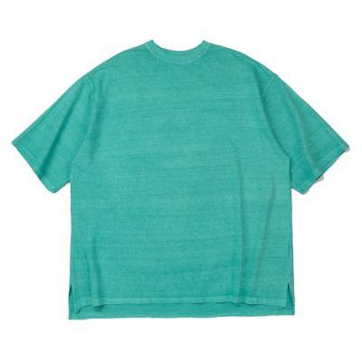 CB 아콘 피크먼트 오버핏 티셔츠 (민트)