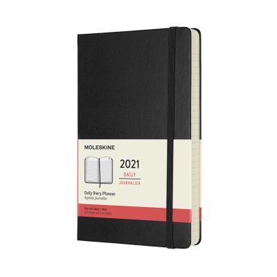 몰스킨 2021데일리/블랙 하드 L