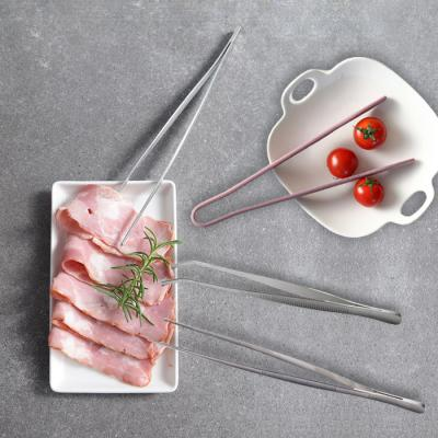 [3개세트] 실리콘 엣지집게+스텐고기집게+요리핀셋