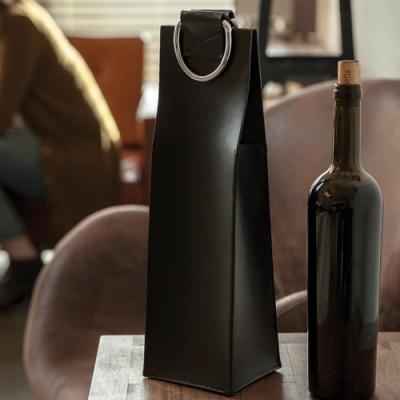 비스키 블랙 와인 캐리어 (One-Bottle)