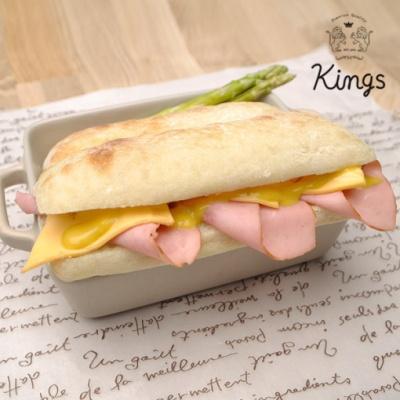 후기극찬! 킹즈 치아바타 100% 수제 핫도그 샌드위치