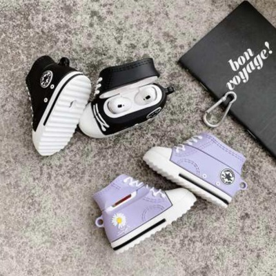 에어팟 1/2/3세대/pro/국화 컨버스 신발 실리콘케이스