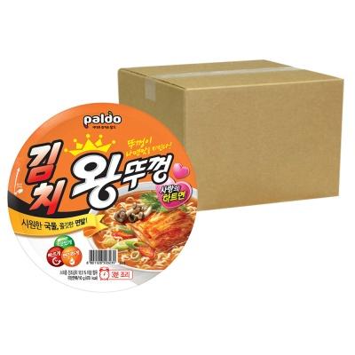 팔도 김치 왕뚜껑 18개