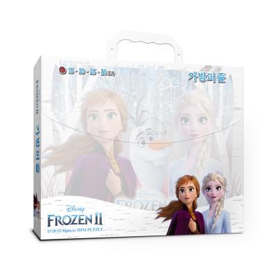 디즈니 겨울왕국2 가방퍼즐(15,20,25,30조각)