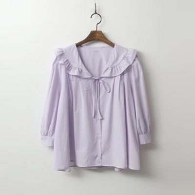 Frill Collar Puff Shirts