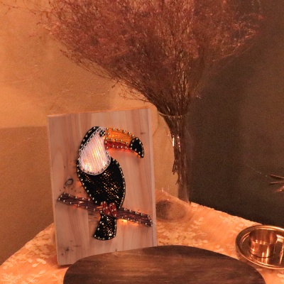 LED 큰부리새 스트링아트 만들기 패키지 DIY