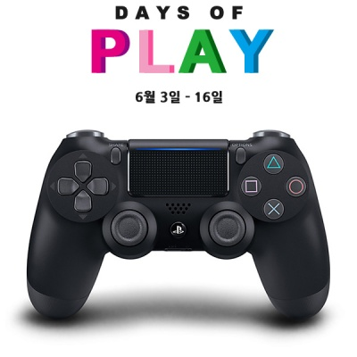 PS4 소니 듀얼쇼크4 제트블랙 (CUH-ZCT2G)