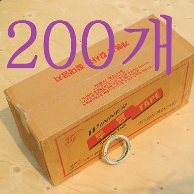 12mm 1박스..금성K&T Winner 투명 OPP 포장/박스 테이프