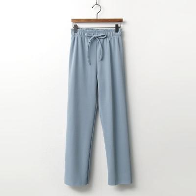 Spring Pleats Straight Pants