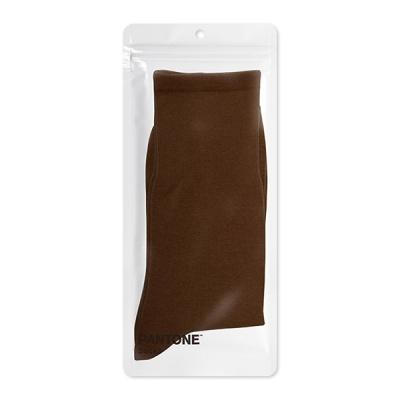 팬톤삭스 브라운 Brown 단색 컬러 장목 양말