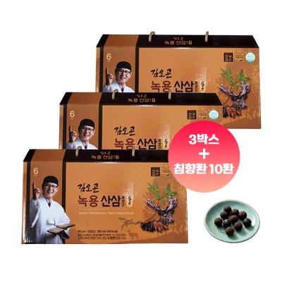 김오곤 녹용산삼 배양근골드 90포