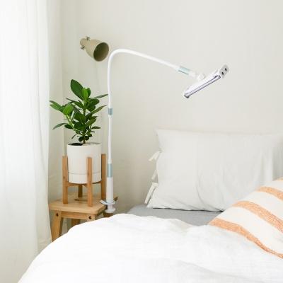피넛 스마트폰 태블릿 침대 거치대 플렉스 라이트