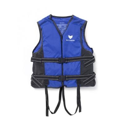국산 돌핀 블루 구명조끼(M) / 물놀이안전 수영조끼
