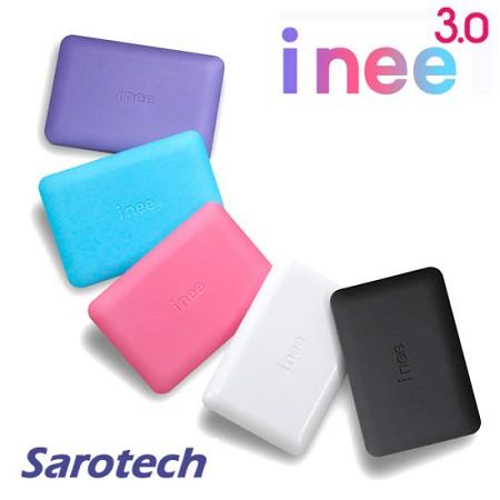 휴대용 외장하드 i nee 3.0 / 1TB SATA HDD (USB3.0 and USB2.0 지원 / SF특수코팅 / 고광택 / LED)