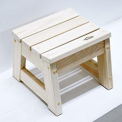 편백나무 고급형 욕실의자