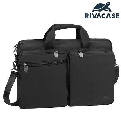 16형 노트북 가방 RIVACASE 8530 (태블릿PC & 액세서리 수납 공간 / 생활 방수)