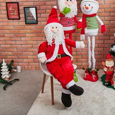 초대형 EUROPIAN 앉아있는 산타 인형