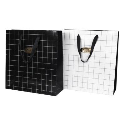 3000 블랙앤화이트 쇼핑백(330x120x350mm)