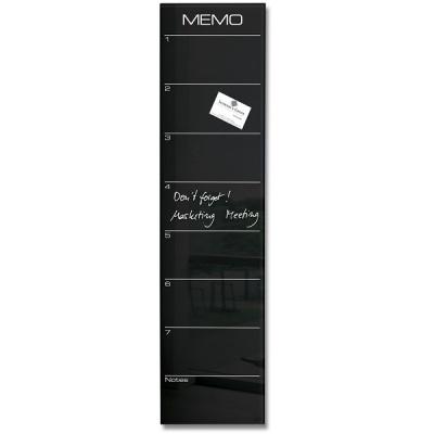 [Sigel] 20x80cm...특수 안전 유리의 인테리어 디자인 메모보드-독일 지겔 마그네틱 글라스보드 GL150