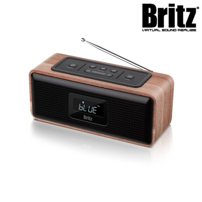 브리츠 프리미엄 휴대용 블루투스 스피커 BA-DL1 (블루투스 4.0 / 6W 고출력 사운드 / 라디오,알람)