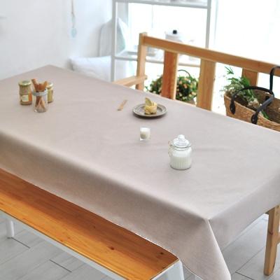 해지 베이지 방수식탁보(2인~10인용)