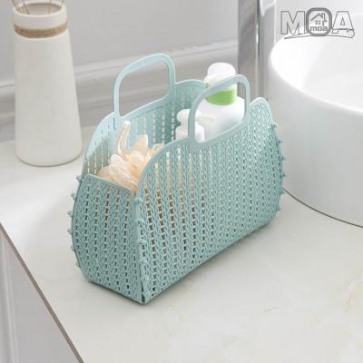 파스텔 미니 젤리백 숄더백 파우치 목욕가방 장바구니