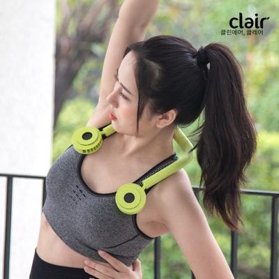 [클레어 공식수입] KC인증_넥밴드형 무선 선풍기