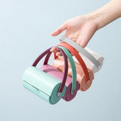 [ABC생활] 파스텔 스트랩 돌돌이 테이프 X 리필 5개