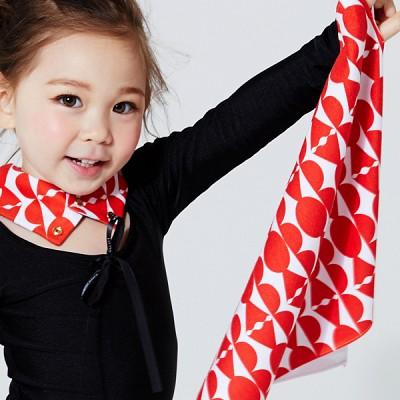 [어린이집용 수건] 예쁜 고리 수건- 디자인 선택-스위트캔디