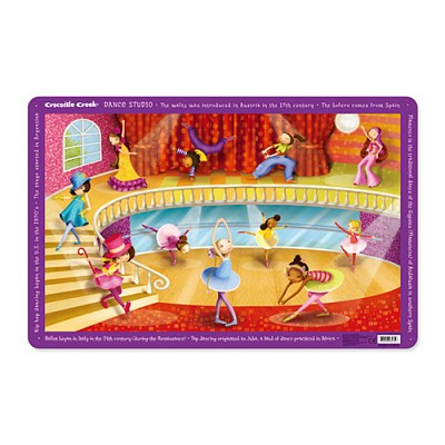 [Crocodile Creek] Dance Studio Placemat