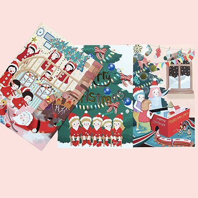 루킷 크리스마스 카드 시리즈