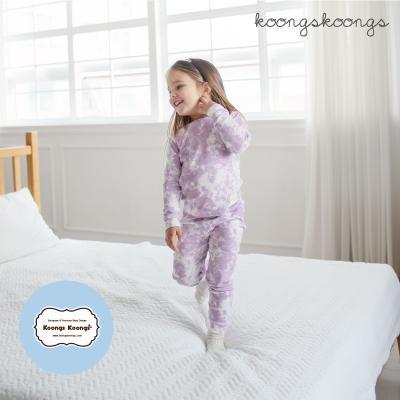 [긴팔실내복]스노우퍼플실내복 유아실내복 아동실내복