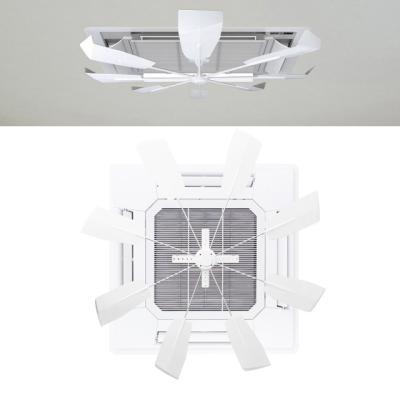 천장형 에어컨 무동력 공기순환기 실프팬 2개