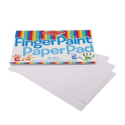 핑거 페인트 종이 패드
