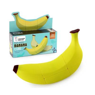 맥킨더 3D 과일 바나나 큐브