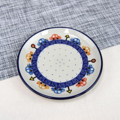 폴란드그릇 아티스티나 원형 접시 16cm 패턴1121