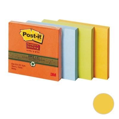 포스트잇 654  슈퍼스티키 노트 (골드)