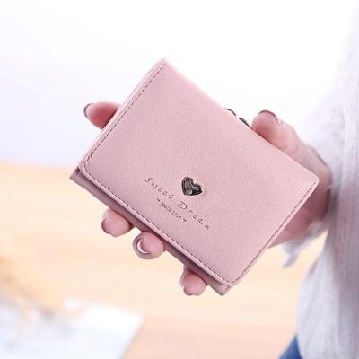 델리 가죽 반지갑(핑크)