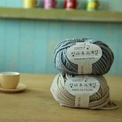 학생들을 위한 뜨개질세트(털실+바늘3종)