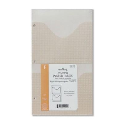홀마크 CD/DVD 홀더/앨범/바인더 리필/라벨지 (AR2004)