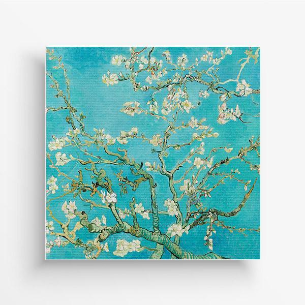 바인 고흐 꽃피는 아몬드나무 인테리어액자 35x35