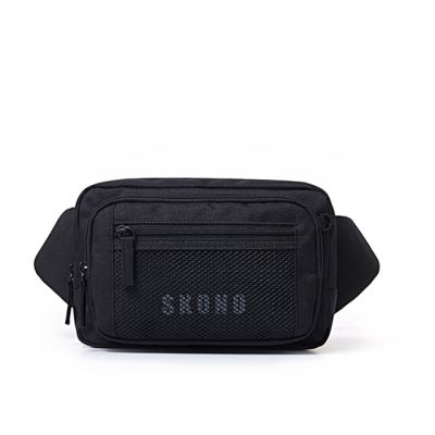 POLY MESH WAISTBAG BLACK WB18WB0003BK