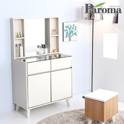 파로마 라라 드레스룸 800 화장대 (콘솔+수납거울)