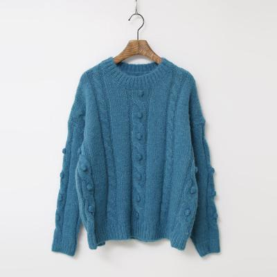 Wool Drop Crop Sweater